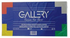 Gallery enveloppen 114x229mm, met venste