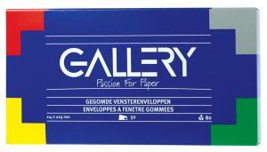 Gallery enveloppen 114x229mm met venster