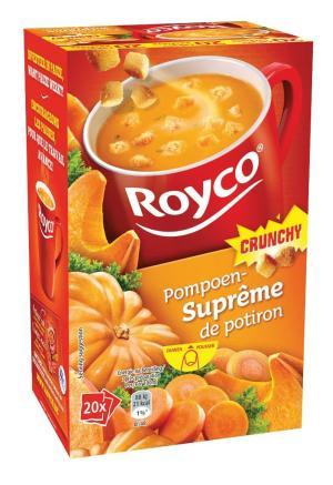 Royco Minute Soup pompoensuprême +korstj