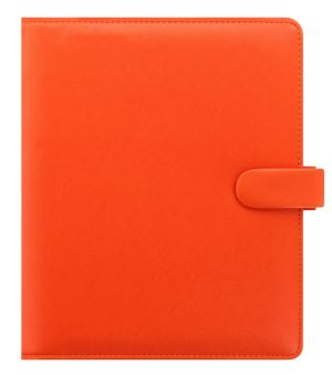 022585Saffiano-A5-Bright-Orange