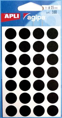 Agipa Etui 168 Etik.Diam.15mm Zwart