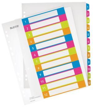 Leitz Tabblad Print Wow 12 tabs A4