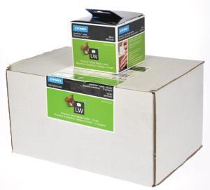 Dymo etiketten 54 x 101 mm, 220/rol(12/d