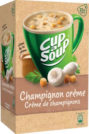 Cup A Soup soep champignons 20 x 175gram