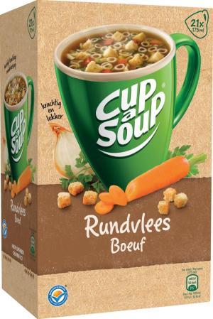 Cup A Soup soep rundvlees 20 x 175gram
