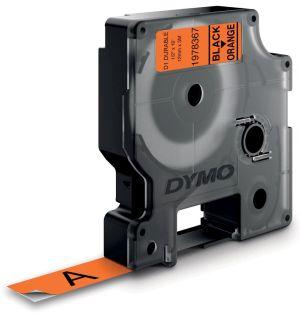 Dymo duurzame D1 tape 12 mm x 3, zwart o