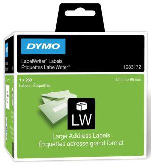 Dymo duurzame etiketten LabelWriter89 x