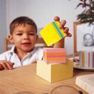 Post-it Mini Notes Cube limoen kleuren 5