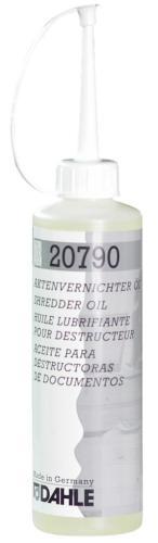 Dahle olie voor papiervernietigers- safe