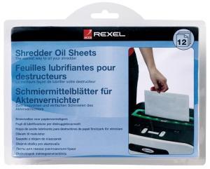 Rexel geoliede bladen pak van 12 stuks
