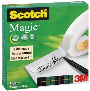 Scotch® plakband Magic™ Tape ft 25mm x 6