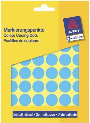 Avery etiketten - rond - 18mm - 1056st -