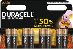 Duracell piles Plus Power AA, blister de