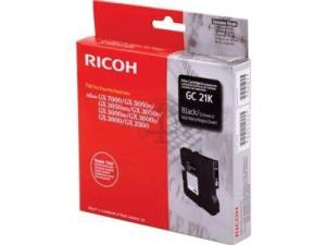 Ricoh ink cartridge voor GC-21K zwart (1