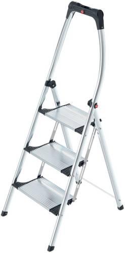 Hailo trapladder Comfort Plus, 3 treden,