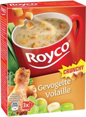 Royco Minute Soup gevogelte + korstjes -