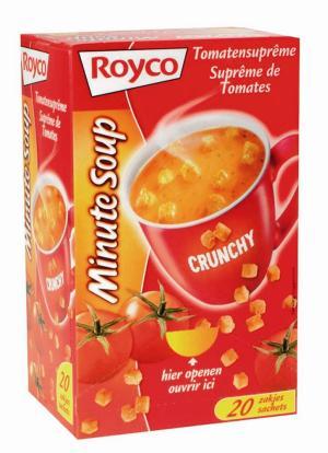 Royco Minute Soup tomatensuprême +korstj