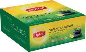 Lipton thee Green Tea Citrus, zakjes