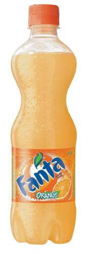 Fanta Orange - 24 plastiek flesjesvan 50