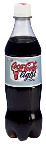 Coca-cola light pak van 24 plastiekflesj