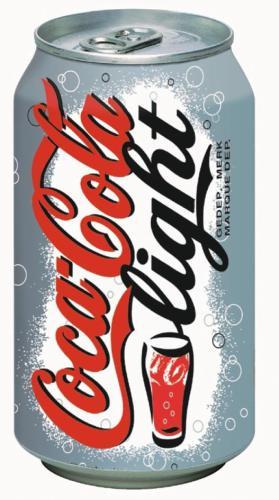 Coca-Cola Light pak van 30 stuks, blik 3