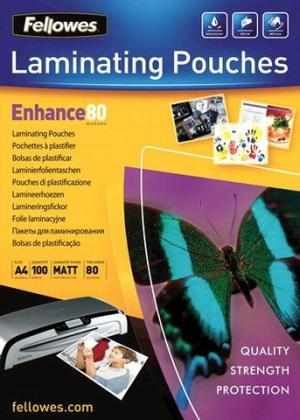 Fellowes lamineerhoezen mat A4, 80micron