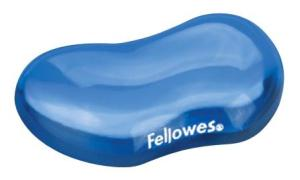 Fellowes polssteun Crystals™ Gel blauw