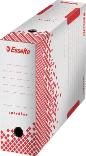 Esselte archiefdoos Speedbox 100, rug va