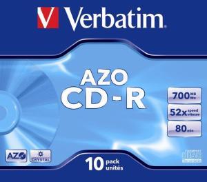 Verbatim CD recordable pak van 10 stuks
