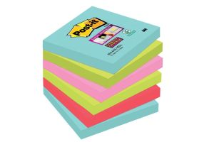 Post-it Super Sticky notes Miami, 76 x 7