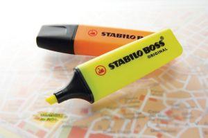 Markeerstift Stabilo Boss Original geel