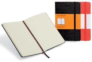 Moleskine notitieboek, 9 x 14 cm, gelijn