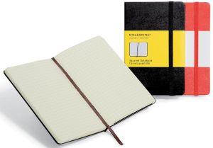 Moleskine notitieboek, 13 x 21 cm,geruit