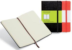 Moleskine notitieboek, 13 x 21 cm,effen,