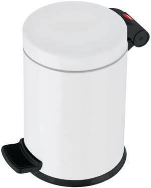Hailo poubelle pour sanitaire, 4 L,blanc