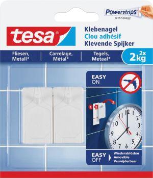 Tesa klevende spijker voor effen ensolid