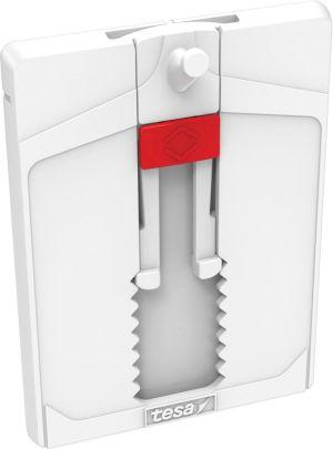 Tesa Klevende Spijker voor Tegels en Metaal, verstelbaar, draagvermogen 4 kg, blister van 2 stuks
