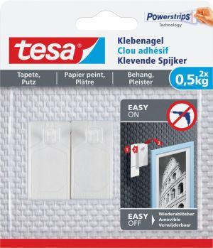 Tesa Klevende spijker voor Behang en Ple
