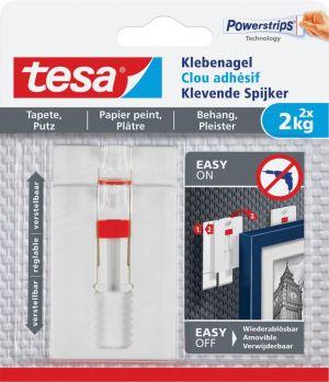 Tesa klevende spijker voor oneffenen gev