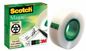 Scotch® plakband Magic™ Tape ft 19mm x 3