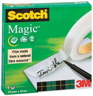 Scotch® plakband Magic™ Tape ft 19mm x 6