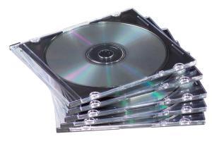 Fellowes CD-doosje Slimline 25x