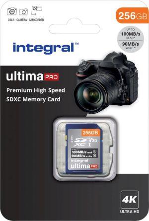 Integral geheugenkaart SDXC, 256 GB