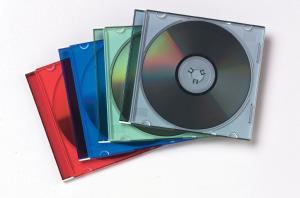 Fellowes 25 Slimline CD-doosjes assorti