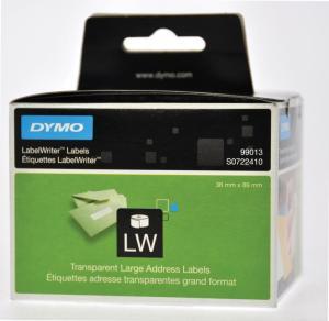 Dymo etiketten op rol LabelWriter,transp