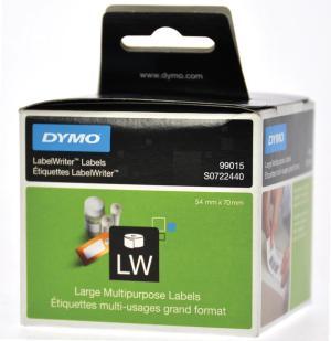 Dymo etiketten 70 x 54 mm, 320 op rol, d