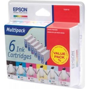 Epson ink cartridge T5597, 6 kleuren voo