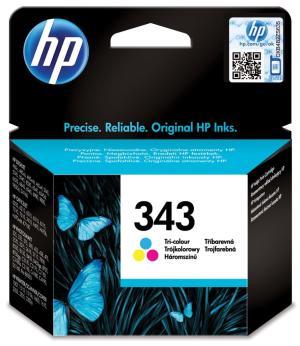 HP ink cartridge C8766E HP 343 driekleur