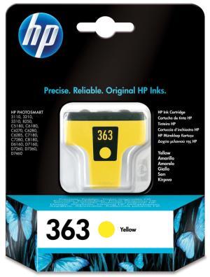 HP ink cartridge C8773EE HP 363 geel 4ml