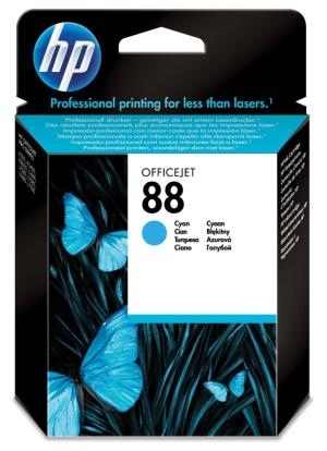 HP ink cartridge C9386AE HP 88 cyan9ml